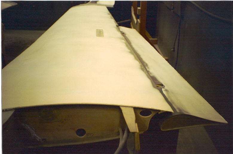 Finishing a composite airplane